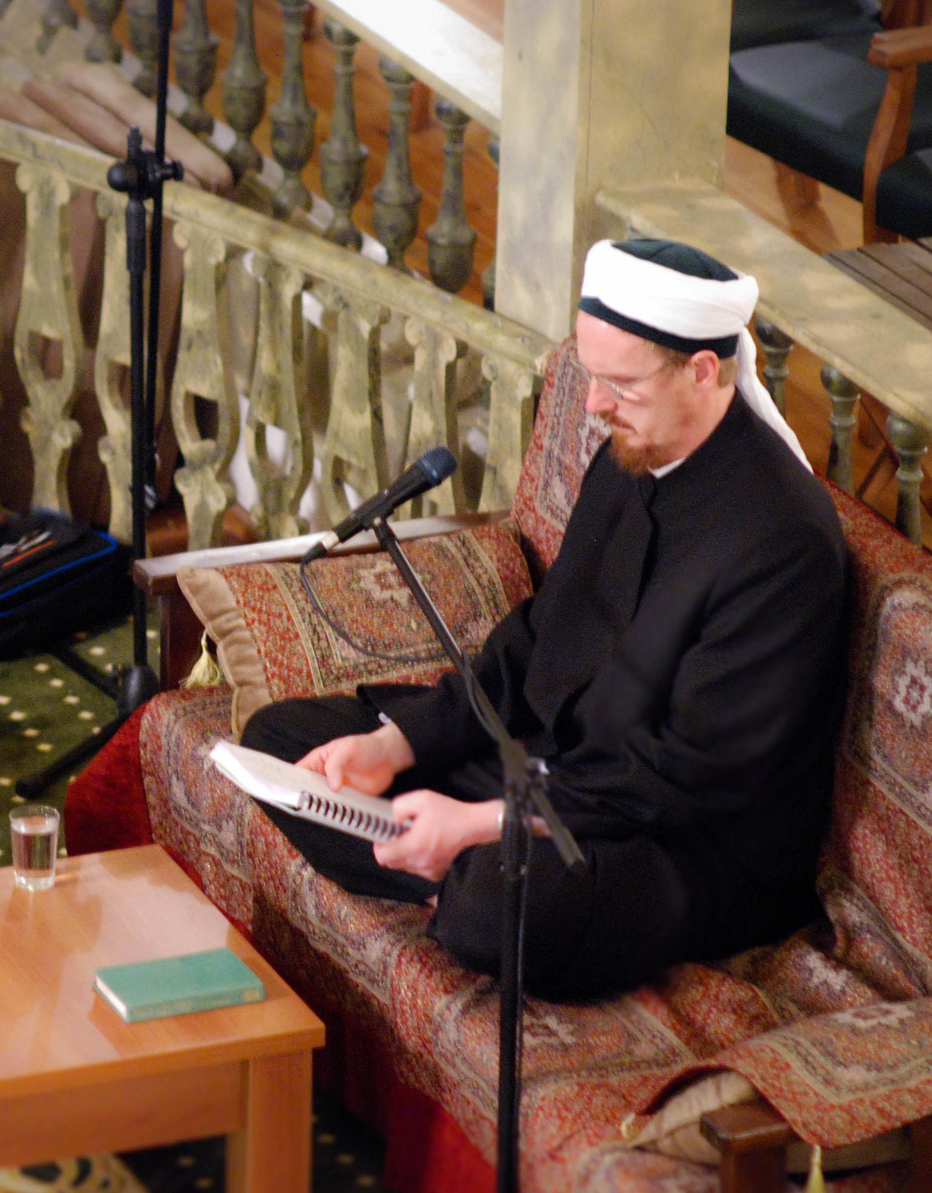 "Spiritual Human"" Interview with Tim Winter / Abdal Hakim Murad ..."